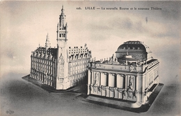 ¤¤   -    LILLE  -   La Nouvelle Bourse Et Le Nouveau Théatre   -   ¤¤ - Lille