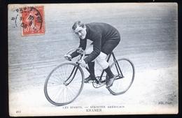 COUREUR CYCLISTE AMERICAIN KRAMER - Cyclisme