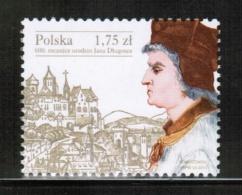 PL 2015 MI 4808   600th Anniversary Of The Birth Of Jan Dlugosz - 1944-.... République