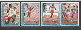 COTE IVOIRE Scott C86-C89 Yvert PA90-PA93 (4) ** Cote 10,50 $ 1984 - Côte D'Ivoire (1960-...)