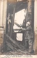 ¤¤   -    LILLE  -   Carte-Photo De L'Incendie Du Théatre En 1903  -  Le Sergent Gillin  -  Pompier    -   ¤¤ - Lille