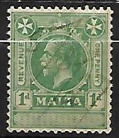 MALTE    -   Timbre   FISCAL  Oblitéré . - Malte