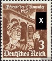 German Empire 598x Fine Used / Cancelled 1935 Fahnenträger - Deutschland