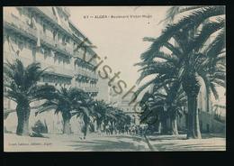 Alger - Boulevard Victor Hugo  [C1.929 - Zonder Classificatie