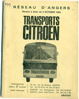 Transports Citroën Angers 1969 - Europe