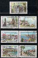 CY TR+ Türkisch Zypern 1975 Mi 10-15 17 Ansichten - Oblitérés