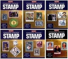 2017 - PDF - SCOTT STANDARD POSTAGE STAMP CATALOGUE CATALOG - Catalogo Francobolli (A-Z) 6 VOL. - Briefmarkenkataloge