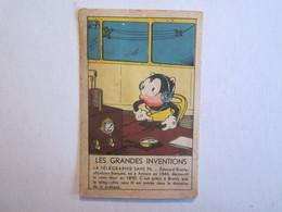 Chromo Chromos Les Grandes Inventions La Télégraphie Sans Fil Edouard Branly Amiens - Chromos