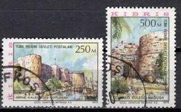CY TR+ Türkisch Zypern 1975 Mi 18-19 Ansichten - Oblitérés