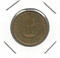 Madagascar 10 Francs 1953. KM#6 - Madagascar