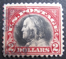 R1606/118 - 1920 - ETATS-UNIS - N°222 ☉ - Cote : 250,00 € - Etats-Unis