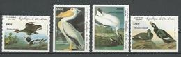 COTE IVOIRE Scott C93-C96 Yvert PA97-PA100 (4) ** Cote 10,50 $ 1985 - Côte D'Ivoire (1960-...)