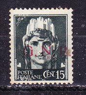 Italia Repubblica Sociale-cent: 15 Usato - 4. 1944-45 Repubblica Sociale
