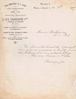CHARENTE- MARITIME - POUILLAC Près MONTLIEU - CHASSAIGNE - Usine Au Moulin à Durand - Cuirs, Etc... - Manoscritti