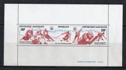 JUEGOS OLÍMPICOS - GABÓN 1976 - Yvert #H25 - MNH ** - Invierno 1976: Innsbruck