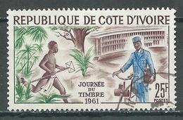 Cote D'Ivoire YT N°199 Journée Du Timbre 1961 Oblitéré ° - Côte D'Ivoire (1960-...)