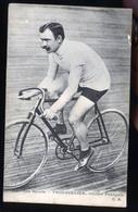 CYSCLISTE SUR PISTE TROUSSELIER               JLM - Cyclisme