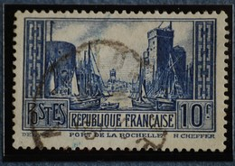 - N° 261 Ob.  PORT DE LA ROCHELLE.  Type Lll - Frankreich