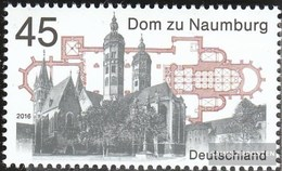 BRD (BR.Deutschland) 3264 (completa Edizione) MNH 2016 Dom A Naumburg - [7] Repubblica Federale