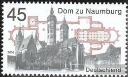 BRD (BR.Deutschland) 3264 (completa Edizione) MNH 2016 Dom A Naumburg - BRD