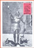 Belgium 1979  2 Maximumkaarten  MK-MC OCB 1925 - 1927 Sint Michiel St Michel  Brussel - Cartes-maximum (CM)