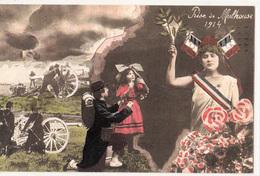 CPA- PRISE De MULHOUSE 1914- Dép68-TBE - Oorlog 1914-18