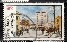 CY TR+ Türkisch Zypern 1986 1987 Mi 186 206A Atatürk-Platz, EUROPA - Oblitérés