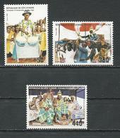 COTE IVOIRE Scott 799-801 Yvert 768-770 (3) ** Cote 9,50 $ 1986 - Côte D'Ivoire (1960-...)