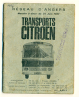 Transports Citroën Angers 1967 - Europe