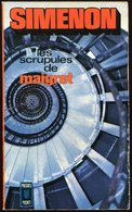 Simenon - Les Scrupules De Maigret - Presses Pocket 1972 - Simenon