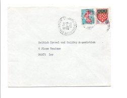 OBLITERATION DE LIVERDUN MEURTHE ET MOSELLE 1963 - Marcophilie (Lettres)