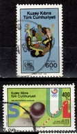 CY TR+ Türkisch Zypern 1988 Mi 234 240 Sommerspiele Seoul, WHO - Oblitérés