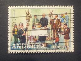 Andorra - 1972 - Mi:AD-ES 78, Sn:AD-ES 69, Yt:AD-ES 72 O  - Look Scan - Spanisch Andorra