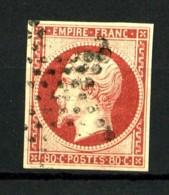 17A - 80c Carmin Empire ND - Oblitéré - Très Belles Marges - Superbe - 1853-1860 Napoleon III