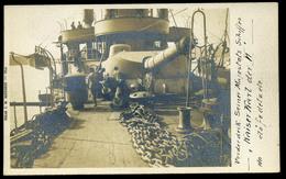 K.u.K. HADITENGERÉSZET S.M.S.Kaiser Karl VI., Fotós Képeslap  /  NAVY SMS Kaiser Karl VI Photo  Vintage Pic. P.card - Autriche