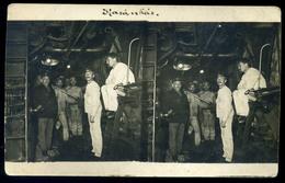 K.u.K. HADITENGERÉSZET I. VH .SMS Admiral Spaun , Fotós Képeslap   /  KuK NAVY WW I. SMS Admiral Spaun, Photo Pic. P.car - Autriche