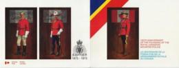 CANADA 1973 SCOTT 612-614 MINT ON CANADA POST SOUVENIR CARD - 1952-.... Reign Of Elizabeth II