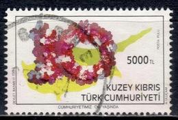 CY TR+ Türkisch Zypern 1993 Mi 364 Zahl 10 - Oblitérés