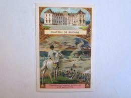 Chromo Chromos Château De Brienne Napoléon Au Combat Le 29 Janvier 1814 - Chromos