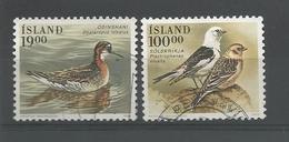Iceland 1989 Birds Y.T. 650/651 (0) - 1944-... Republic
