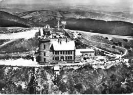 30 - MONT AIGOUAL ( Environ De DOURBIES ) : L'observatoire - CPSM Dentelée Noir Et Blanc Grand Format - Gard - France