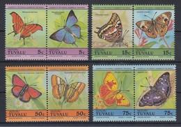 Tuvalu Vaitupu Schmetterlinge Mi.-Nr. 45-52 Satz 8 Werte ** - Tuvalu