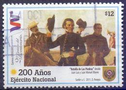Used Uruguay 2011, Uruguayan Army, Bicent. - Battle Of Las Piedras (detail) By Blanes 1V. - Uruguay
