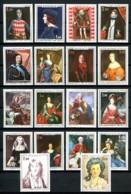 MONACO - Entre 734 Et 1066 - Princes De Monaco - 18 Valeurs (tableaux) - Neufs N** - Très Beaux - Monaco