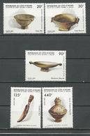 COTE IVOIRE Scott 776-780 Yvert 741-745 (5) ** Cote 8,20 $ 1986 - Côte D'Ivoire (1960-...)