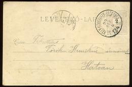 1899. Régi Képeslap, Székelyudvarhely-Segesvár  Mozgóposta Bélyegzéssel Hatvanba Küldve  /  1899 Vintage Picture Postcar - Hongrie