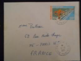 Polynesie Française Lettre De Papeete 1971 Pour Paris - Lettres & Documents