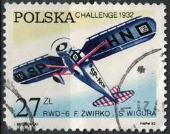 Pologne 1982 Oblitéré Used RWD-6 Avion De Sport Polonais Monoplan à Aile Haute SU - 1944-.... République