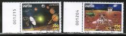 CEPT 2009 AL MI 3316-17 ALBANIA USED - Europa-CEPT