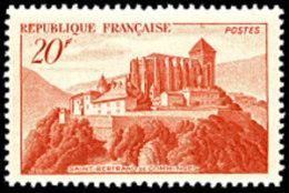France N°  841,A ** Monument - Saint-Bertrand-de-Comminges - France